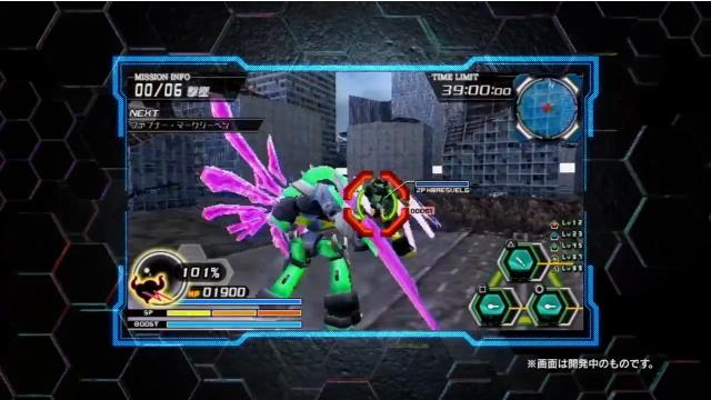 PSP『バトルロボット魂』、「魂ネイション」で上映したPVを公開