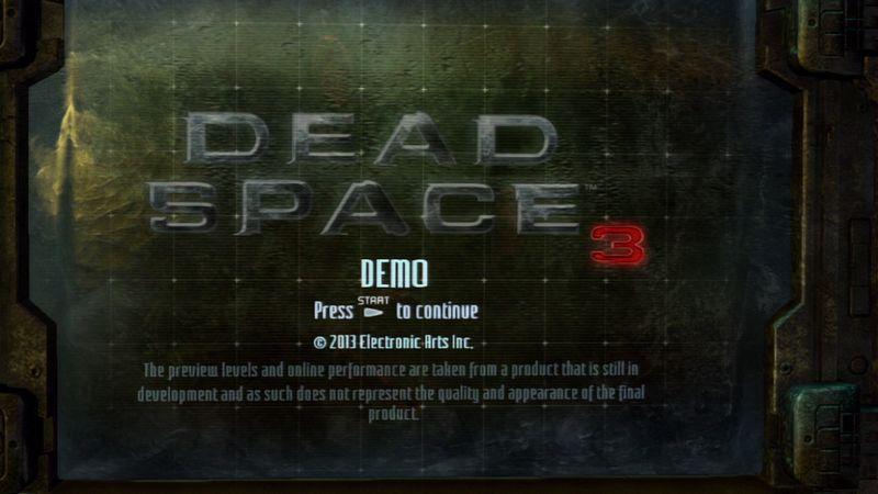 やっぱビビリますっ。『Dead Space 3』、体験版をプレイ