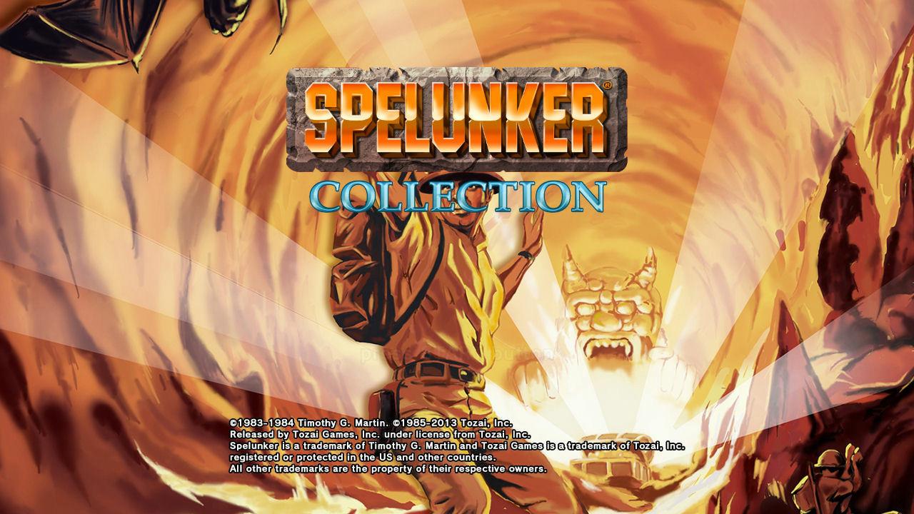 スペランカー誕生30周年記念!PS3『スペランカーコレクション』を1月17日に配信