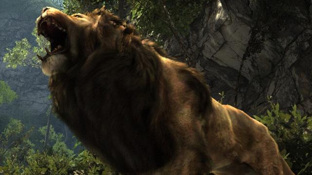 『Cabela's Dangerous Hunts 2013』をプレイ。新年早々ライオンに喰われた