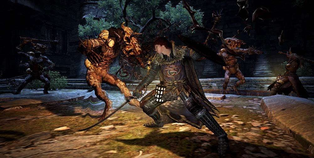 『ドラゴンズドグマ:ダークアリズン』、混沌の王「カースドラゴン」など3体の新モンスターを公開
