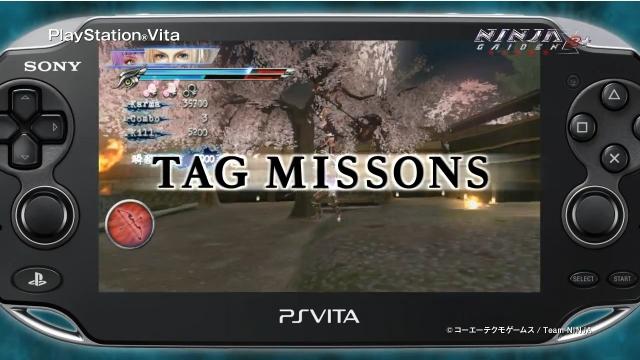 Vita『NINJA GAIDEN Σ2 PLUS』、新モードを紹介するPVを公開