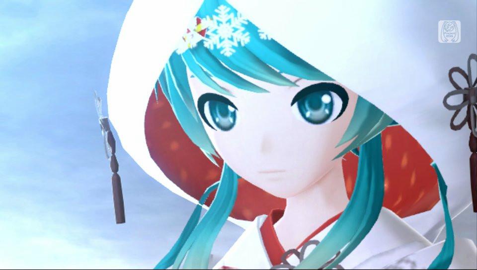 白無垢姿のミクが!PS Vita「初音ミク -Project DIVA- f」、「雪ミク 2013 モジュールセット」が2月5日に配信