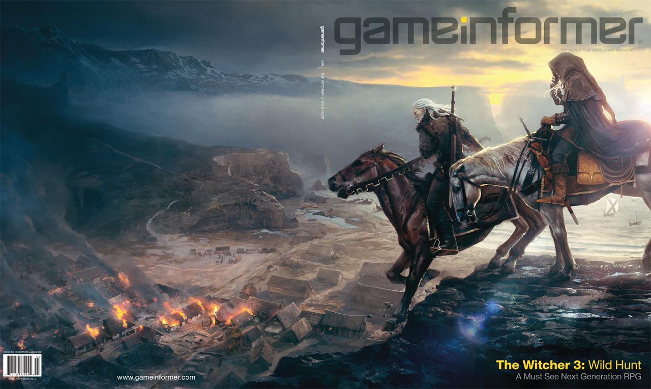 シリーズの最終章『The Witcher 3: Wild Hunt』の制作を発表