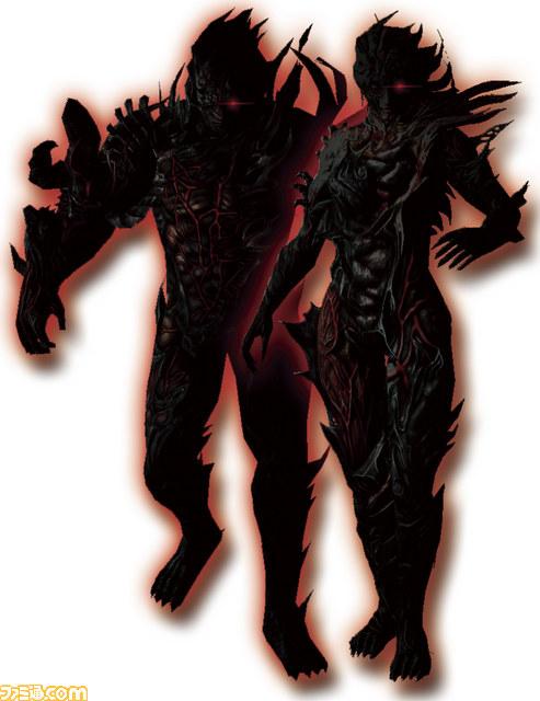 PSVita『ソウル・サクリファイス』、カオスとロウに姿形が変化
