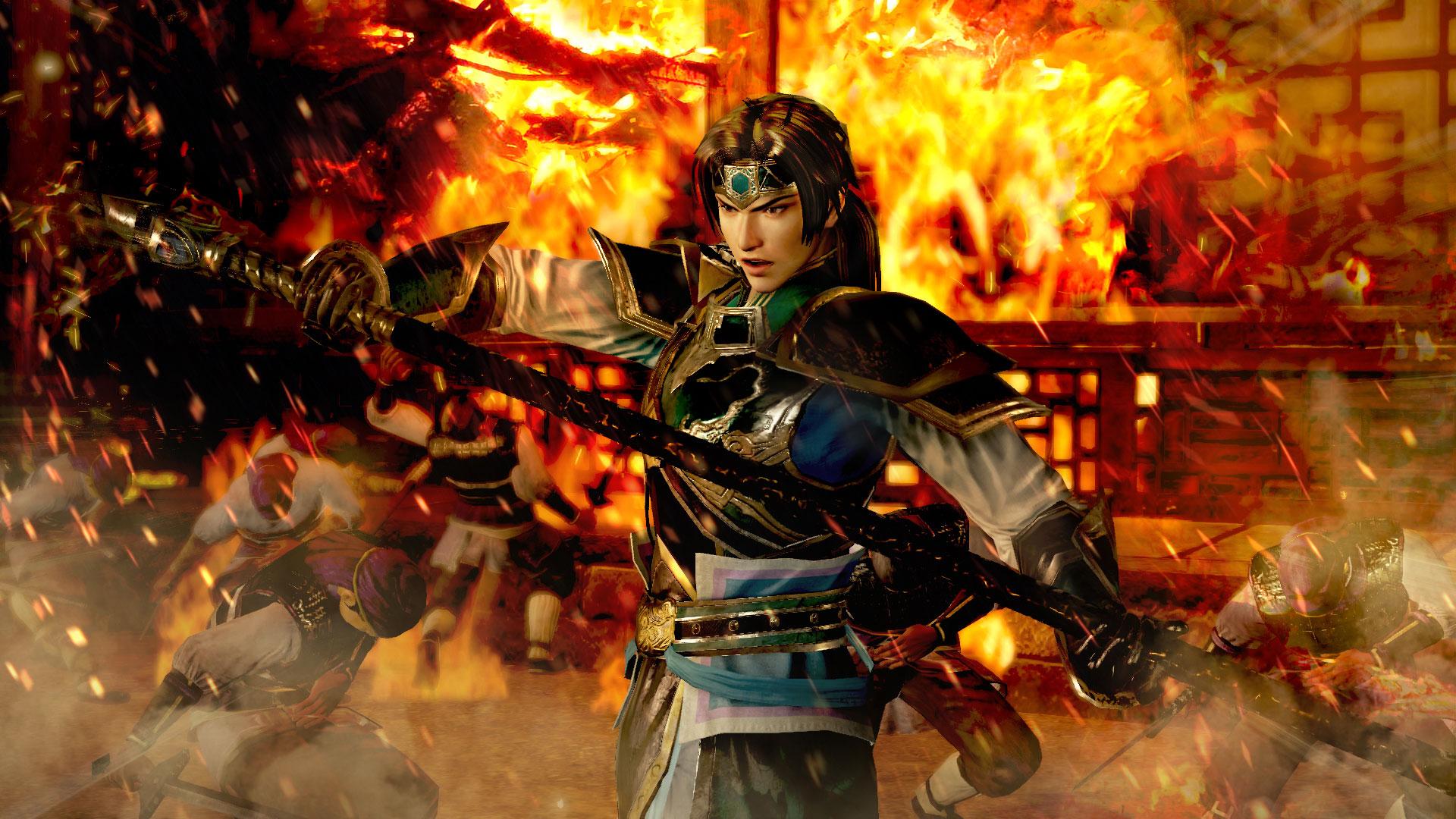 『真・三國無双7 with 猛将伝』、PS4版のスクリーンショットを公開