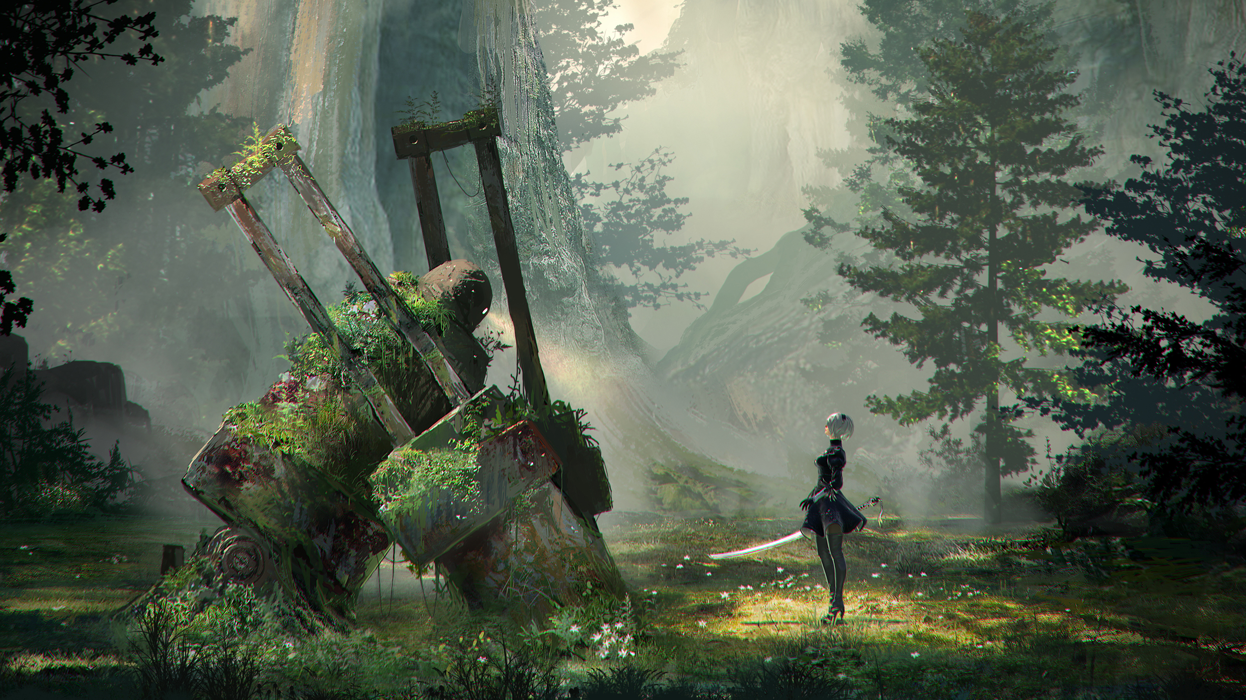 PS4『NieR New Project』、10月29日に最新情報が公開か
