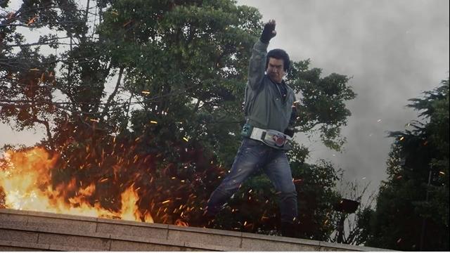 映画『仮面ライダー1号』で、藤岡弘さんが本郷猛を演じるぞ!