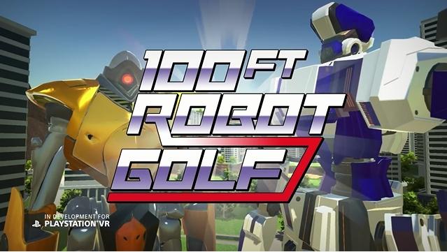 『100ft Robot Golf』、アナウンストレーラーを公開