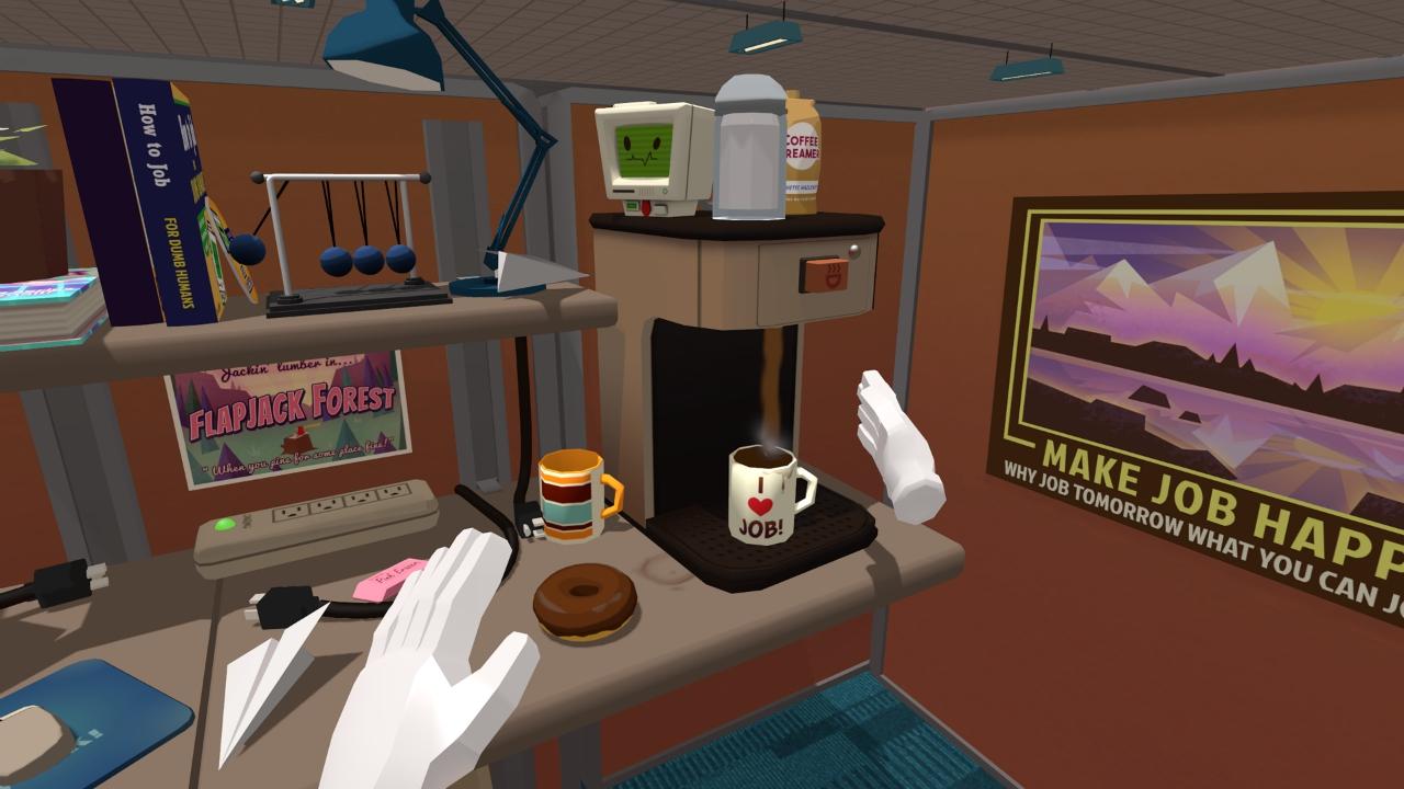 おバカ系シュミレーター『Job Simulator』、ゲームプレイ動画を公開
