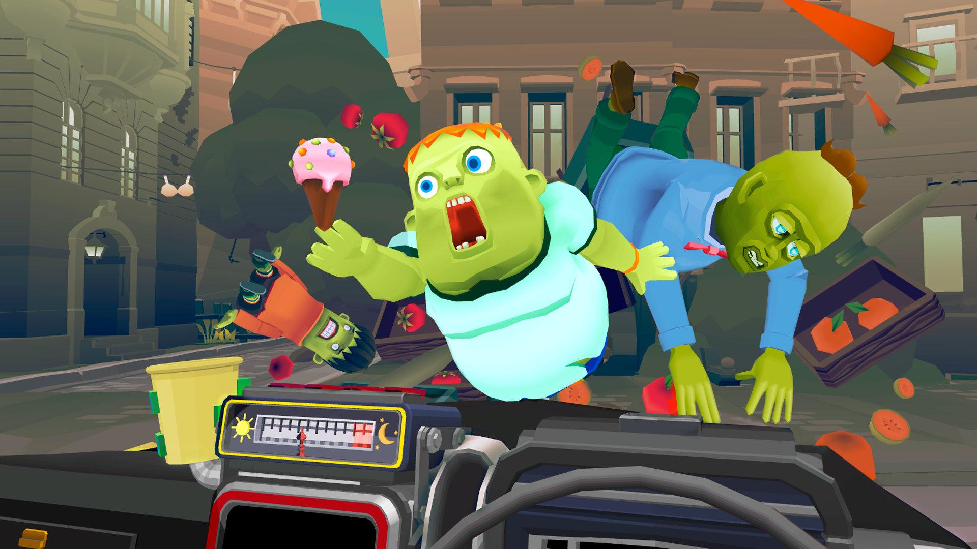 物理シミュレーションとドライブアクション『The Modern Zombie Taxi Co. 』、アナウンストレーラーを公開