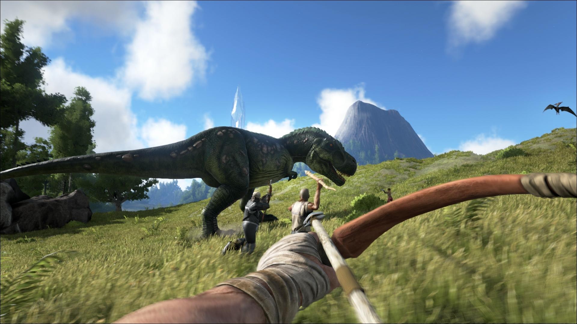 恐竜世界で生きろ!『ARK: Survival Evolved』、アナウンストレーラーを公開