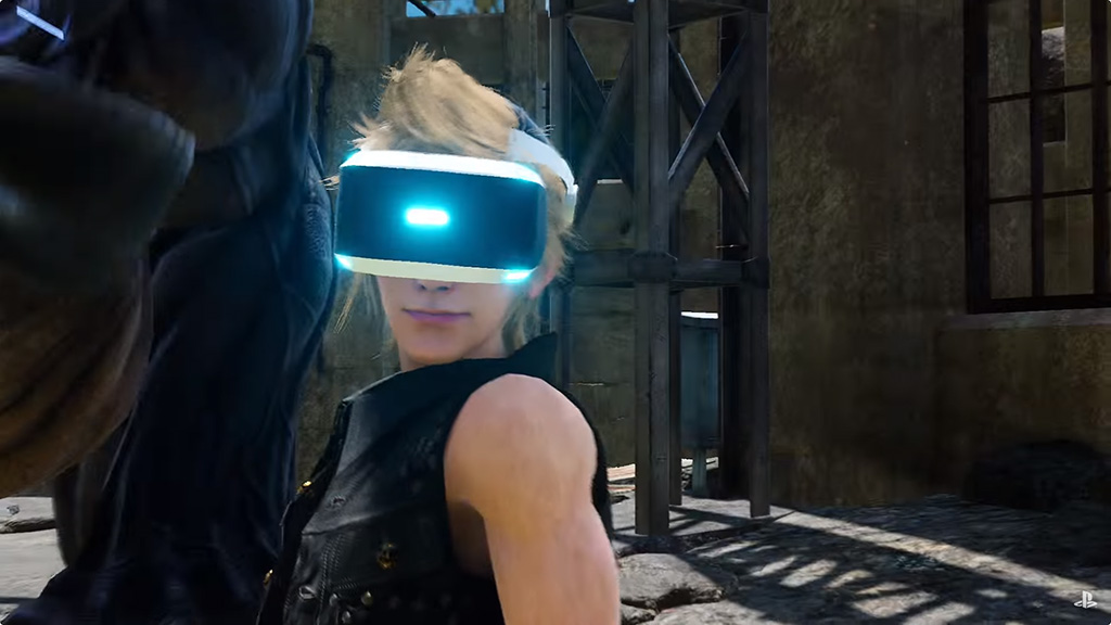 『FINAL FANTASY XV』、PlayStation VR対応が発表に