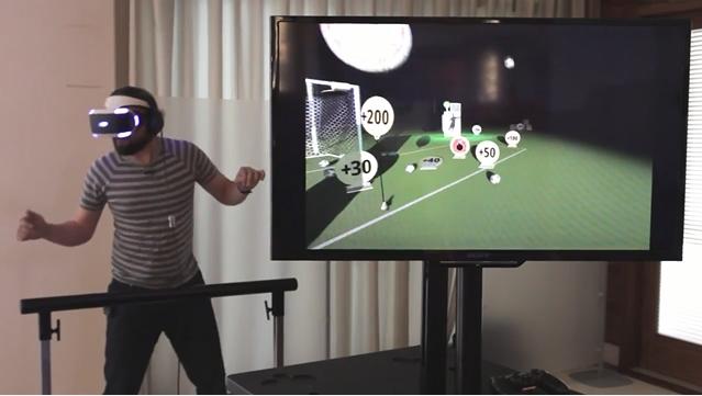 ヘディングVRゲーム『Headmaster』のゲームプレイ動画が公開