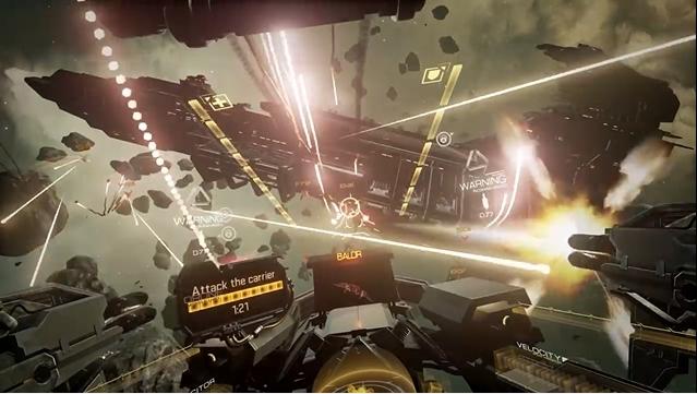 『EVE: Valkyrie』、VRゲームプレイトレーラーを公開