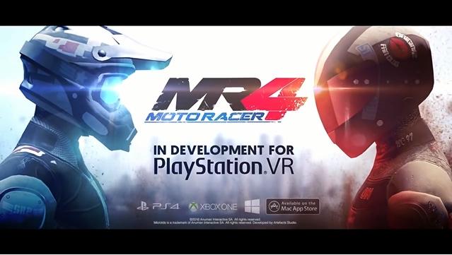 『Moto Racer 4』、VRティザートレーラーを公開
