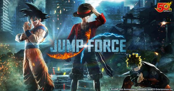 『JUMP FORCE(ジャンプ フォース)』のローンチトレーラーを公開